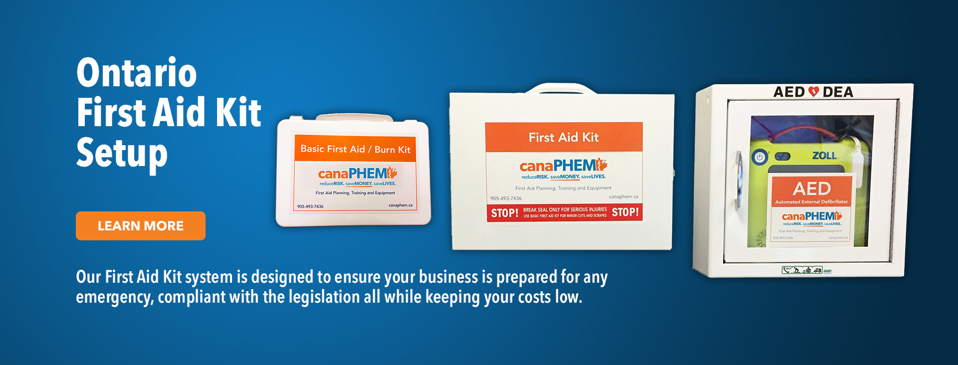 Canaphem Aed First Aid Training Kits Supplies And Services